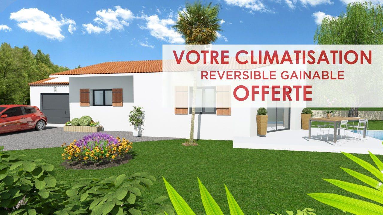 Maisons + Terrains du constructeur ART ET TRADITIONS MEDITERRANEE • 100 m² • LA CALMETTE
