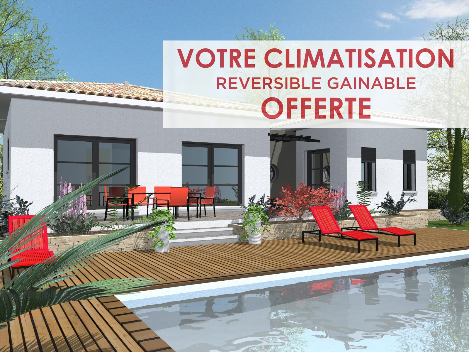 Maisons + Terrains du constructeur ART ET TRADITIONS MEDITERRANEE • 100 m² • SAUVETERRE
