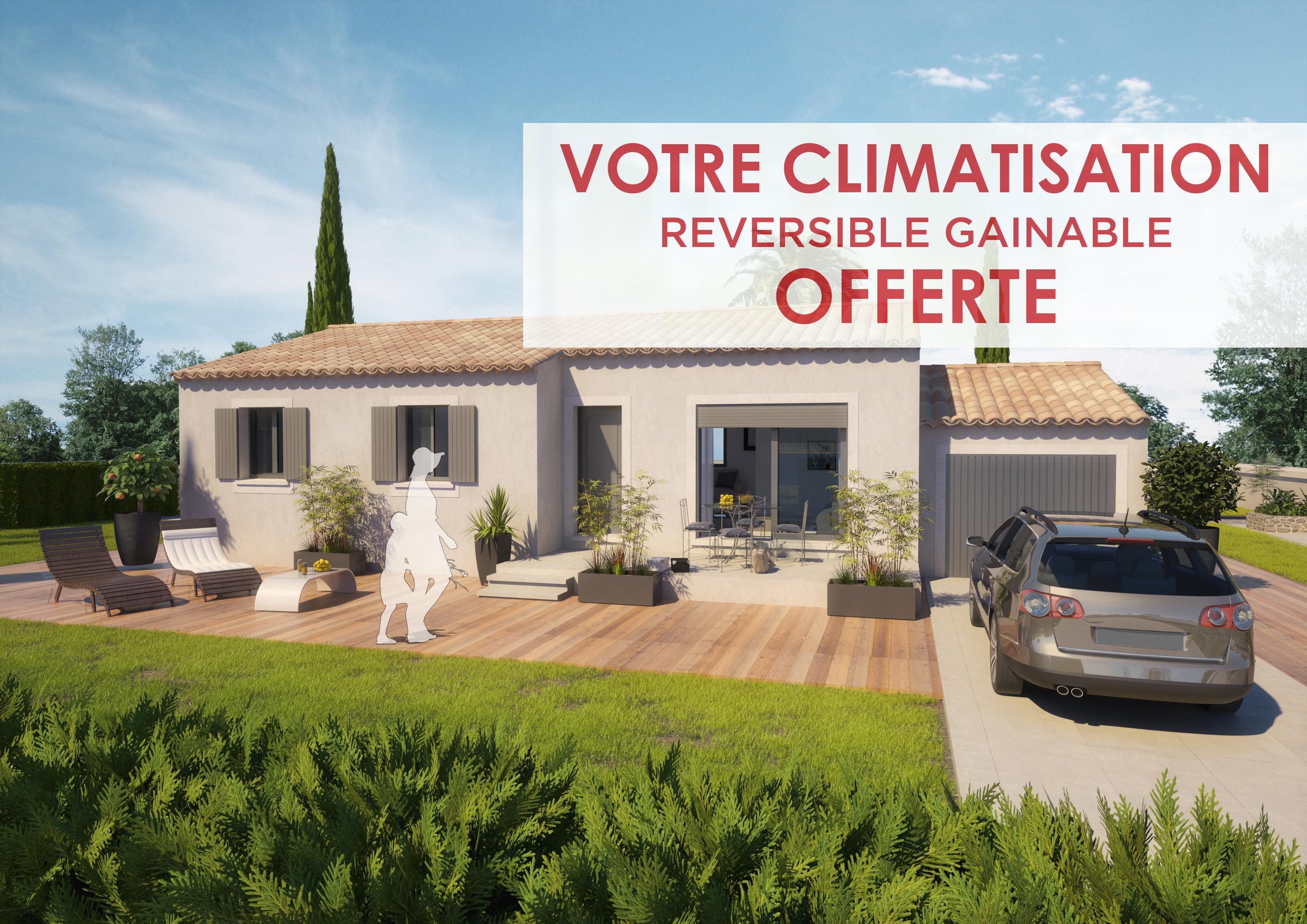 Maisons + Terrains du constructeur ART ET TRADITIONS MEDITERRANEE • 93 m² • TRESQUES