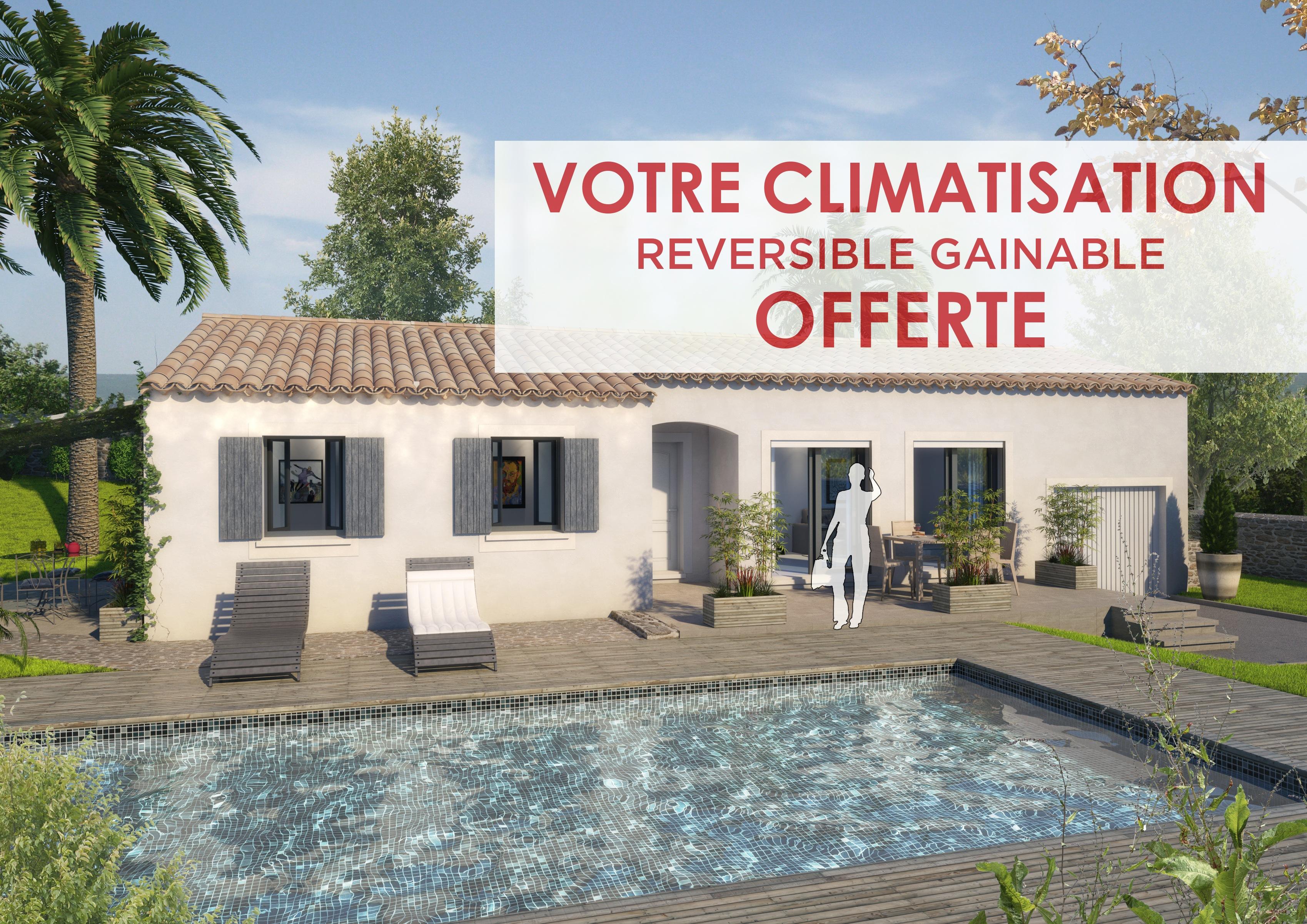 Maisons + Terrains du constructeur ART ET TRADITIONS MEDITERRANEE • 90 m² • ROQUEMAURE