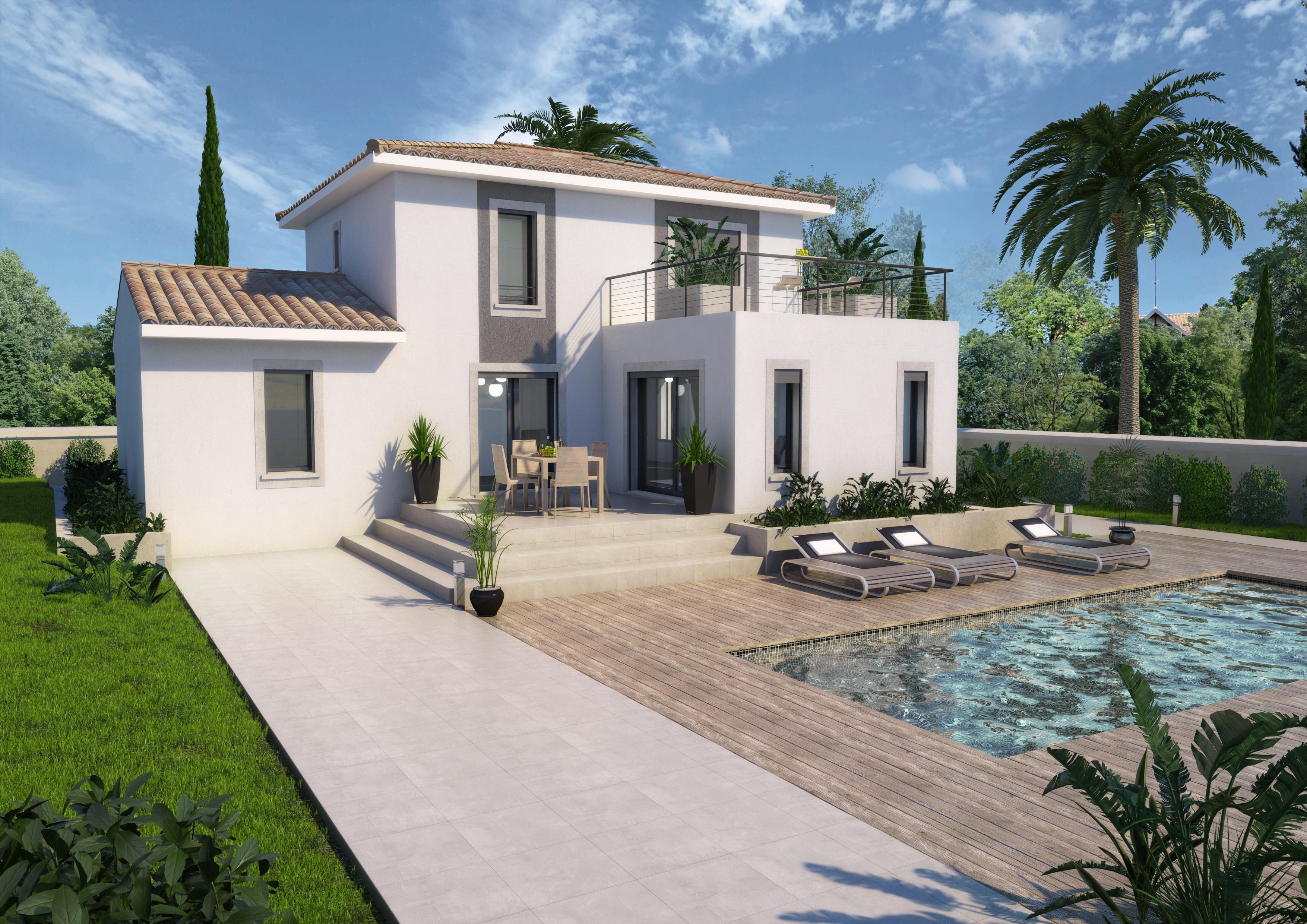 Maisons + Terrains du constructeur ART ET TRADITIONS MEDITERRANEE • 123 m² • UZES
