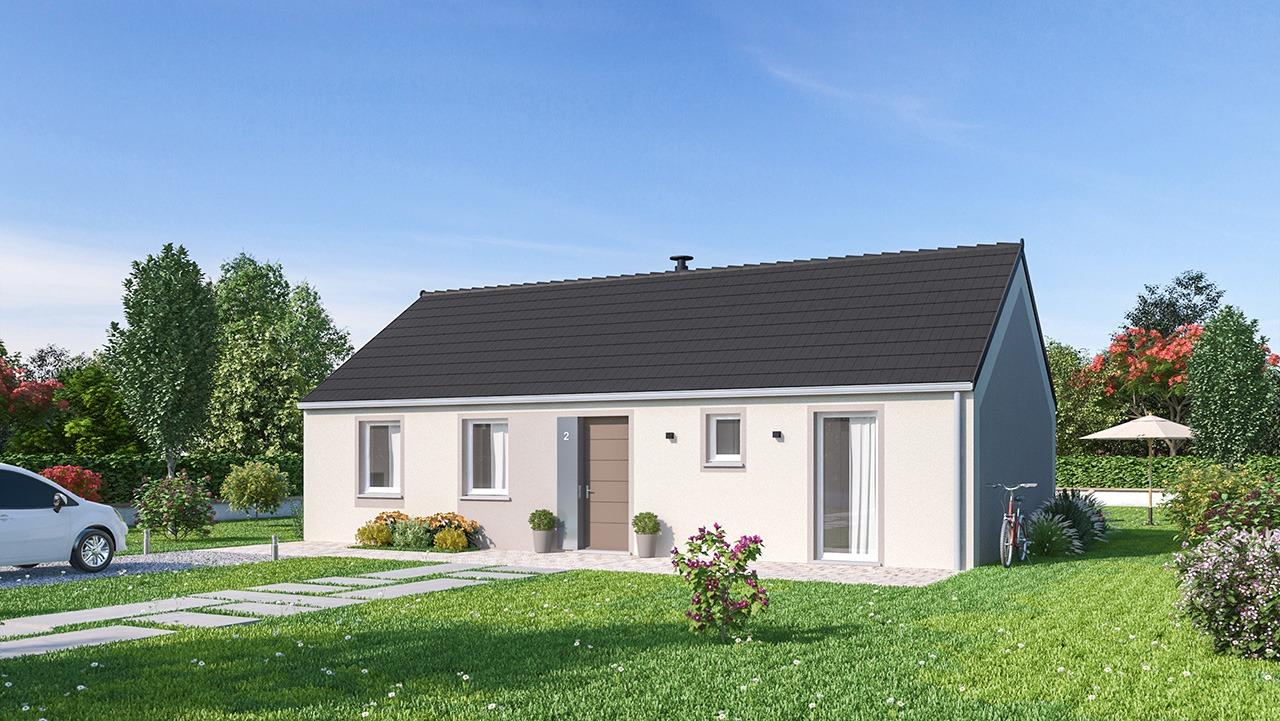 Maisons + Terrains du constructeur MAISONS PHENIX • 84 m² • FRIESEN
