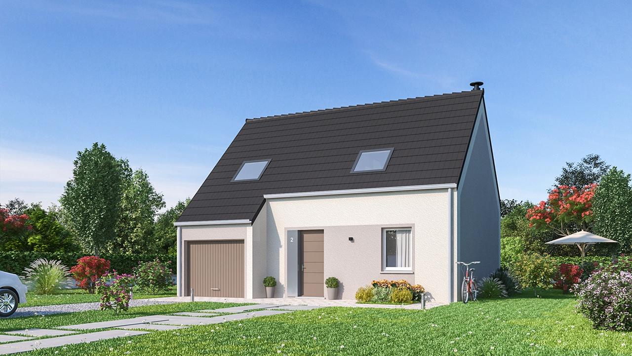 Maisons + Terrains du constructeur MAISONS PHENIX • 84 m² • MULHOUSE