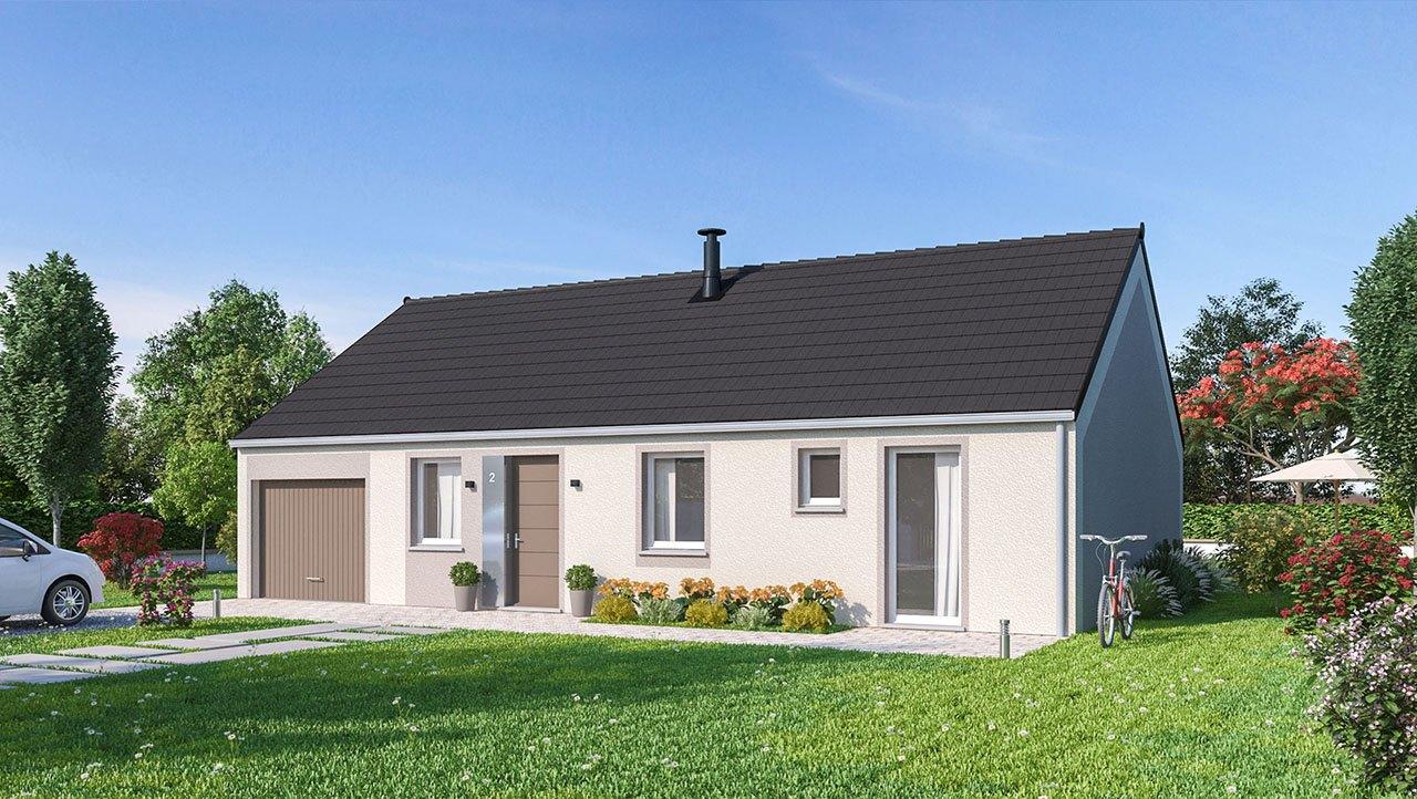 Maisons + Terrains du constructeur MAISONS PHENIX • 84 m² • WECKOLSHEIM