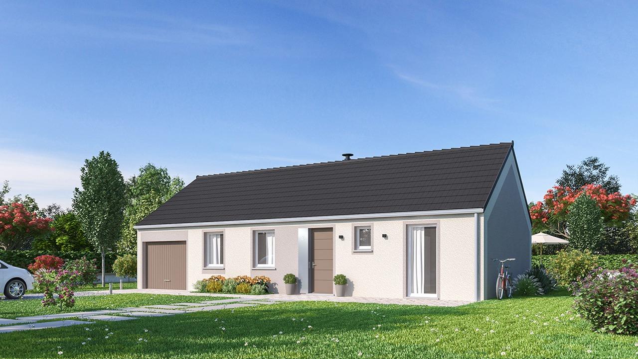 Maisons + Terrains du constructeur MAISONS PHENIX • 81 m² • DESSENHEIM