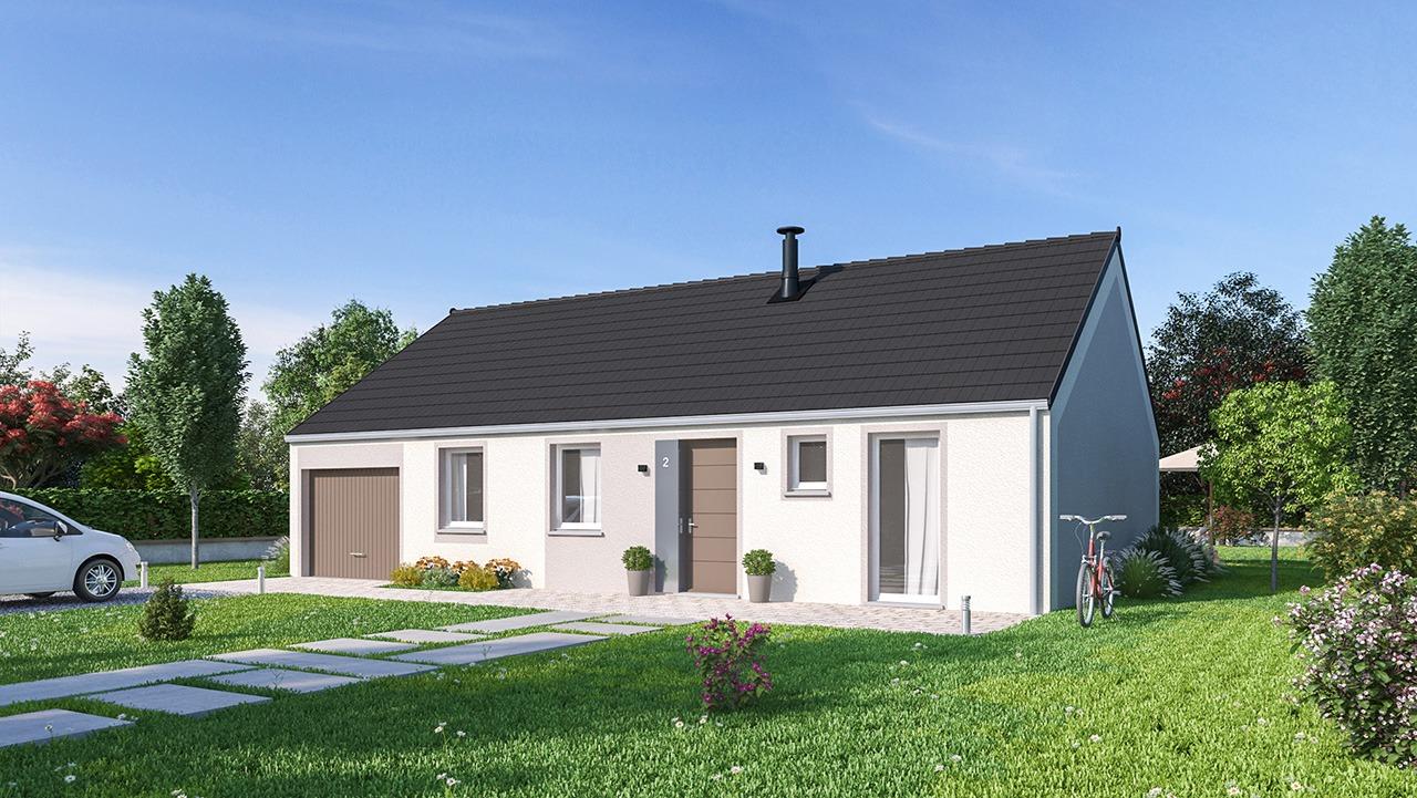 Maisons + Terrains du constructeur MAISONS PHENIX • 84 m² • PETIT LANDAU
