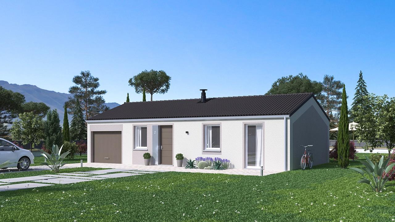 Maisons + Terrains du constructeur MAISONS PHENIX • 73 m² • SAINT DONAT SUR L'HERBASSE