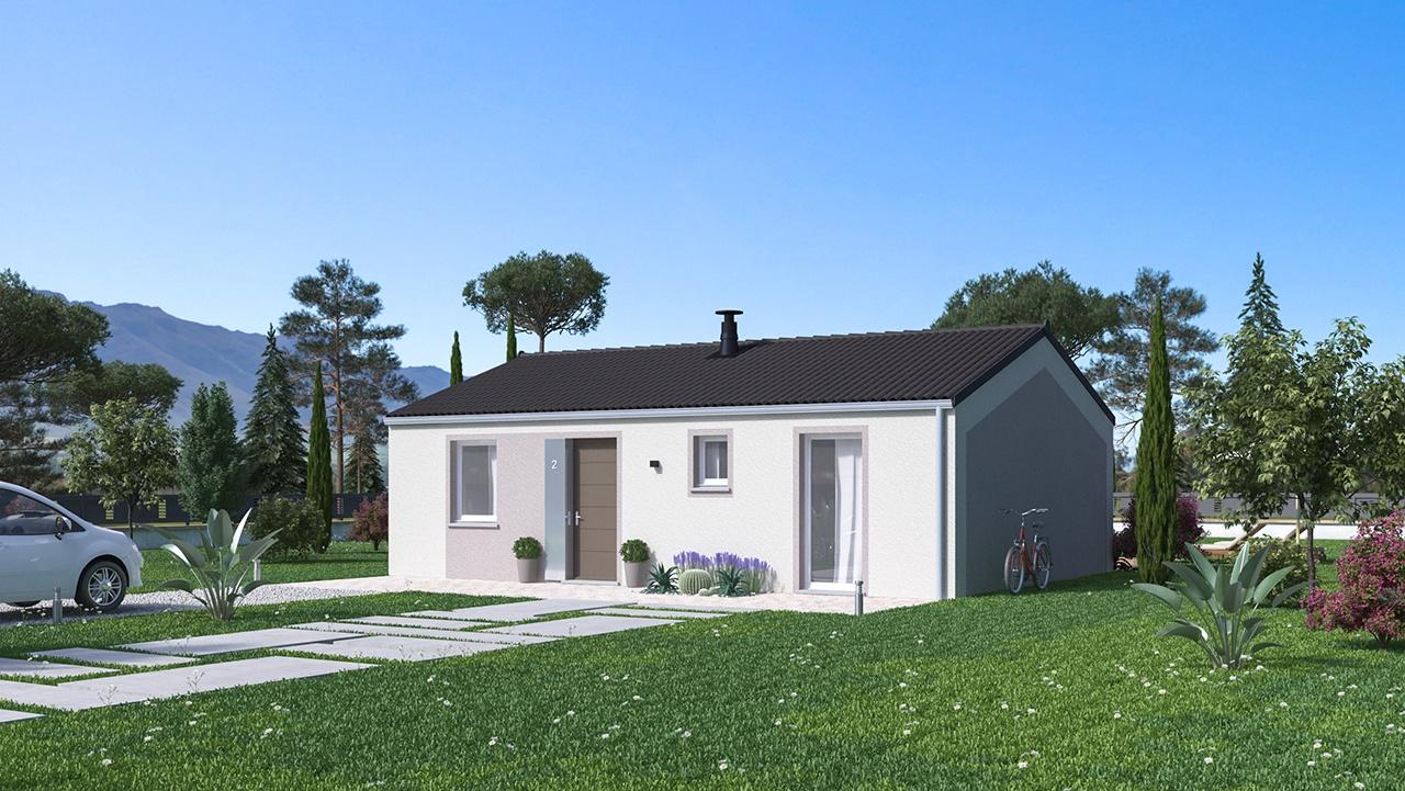 Maisons + Terrains du constructeur MAISONS PHENIX • 68 m² • VALENCE