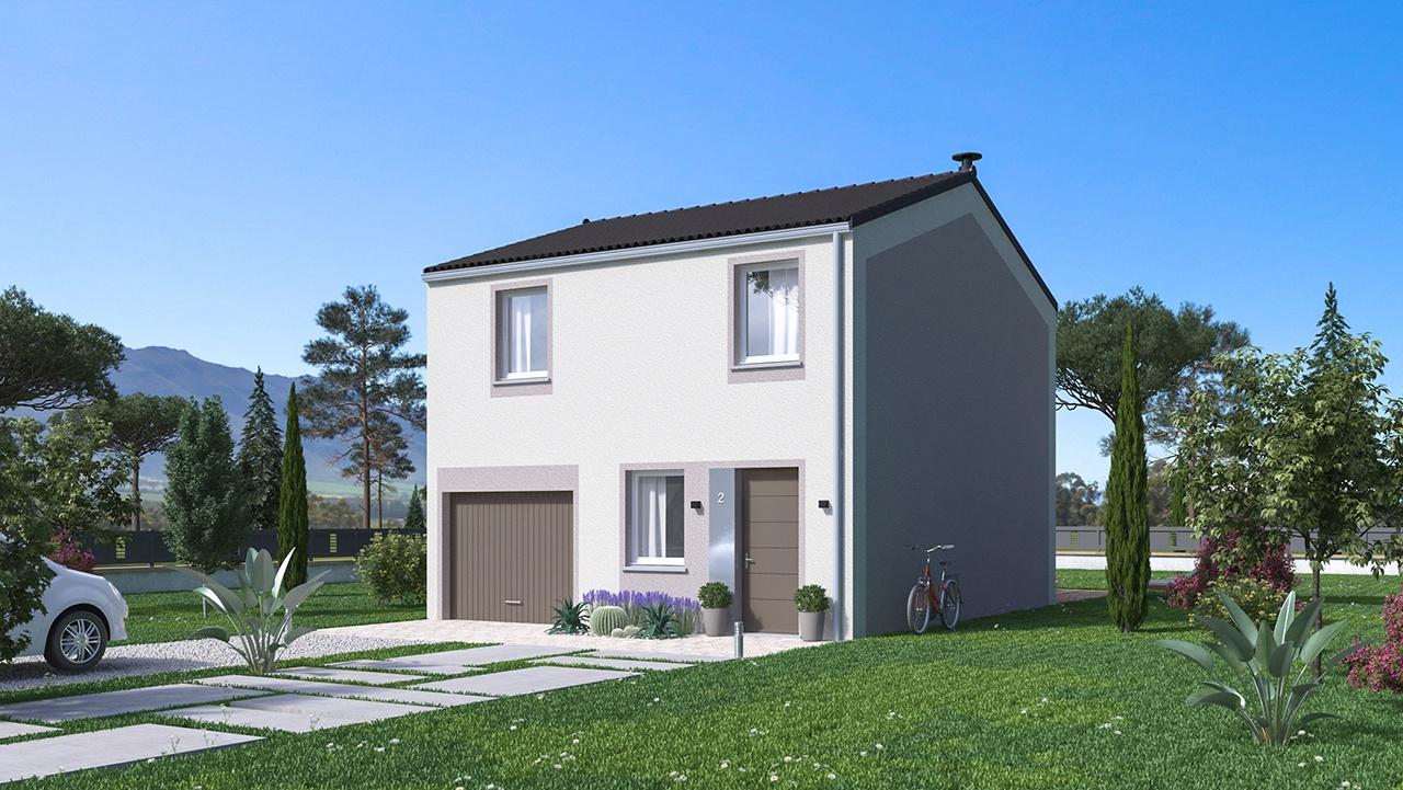 Maisons + Terrains du constructeur MAISONS PHENIX • 91 m² • SERVES SUR RHONE