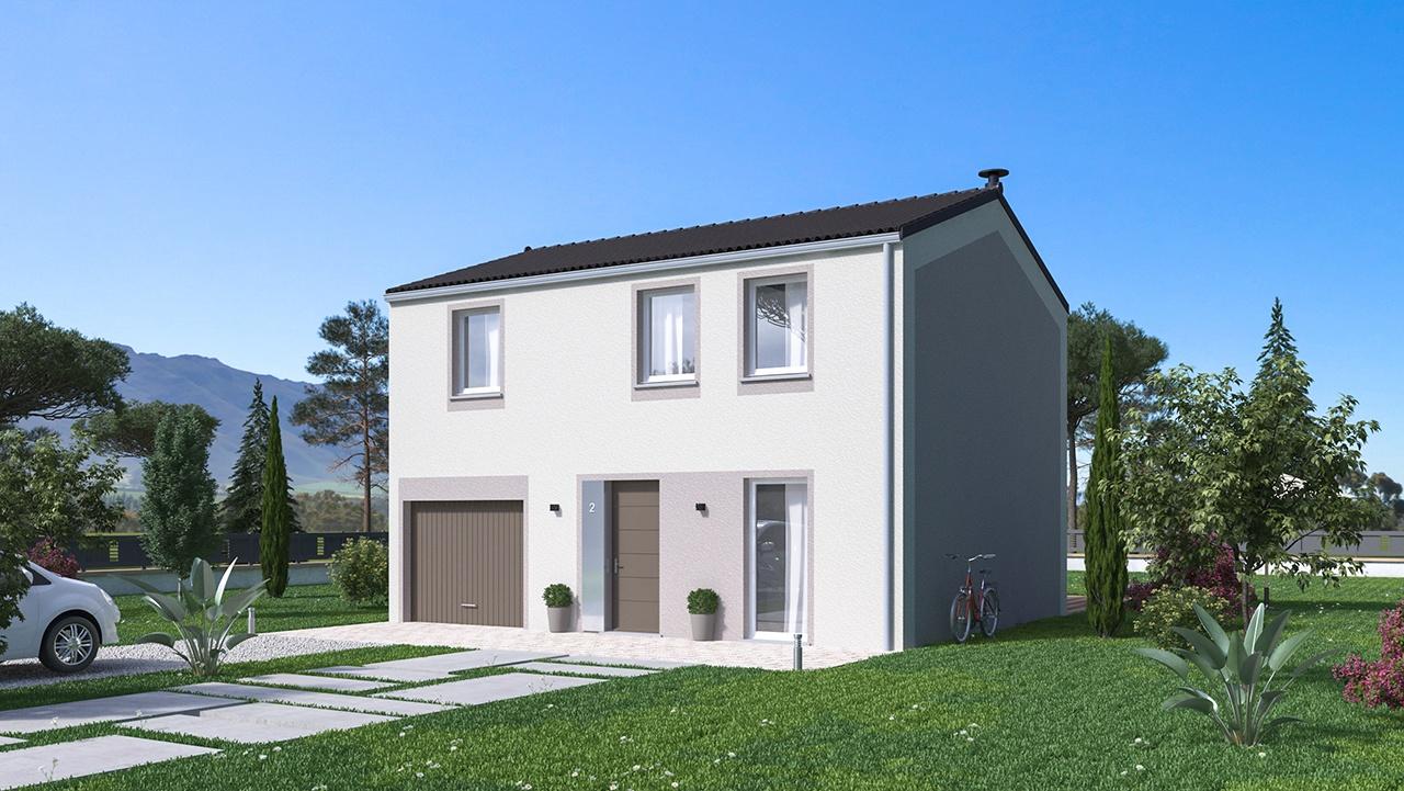 Maisons + Terrains du constructeur MAISONS PHENIX • 99 m² • PORTES LES VALENCE