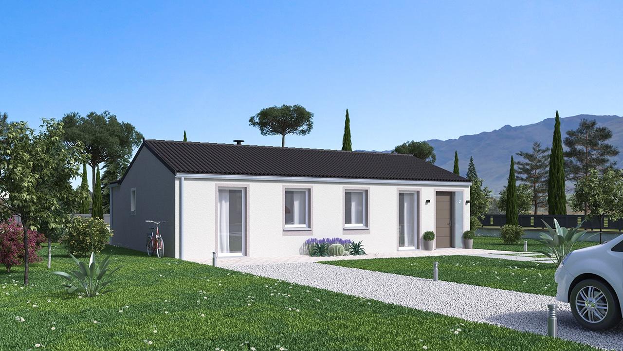 Maisons + Terrains du constructeur MAISONS PHENIX • 92 m² • ROCHEFORT SAMSON