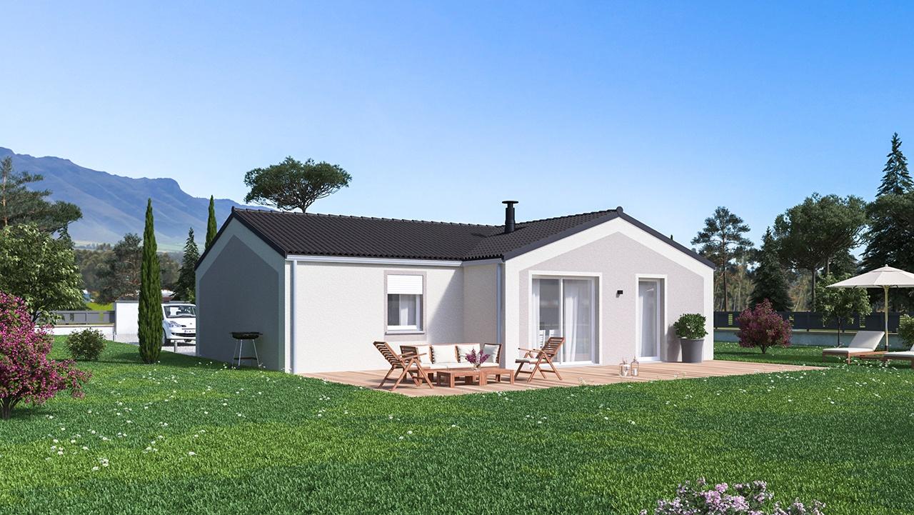 Maisons + Terrains du constructeur MAISONS PHENIX • 92 m² • CHANTEMERLE LES BLES
