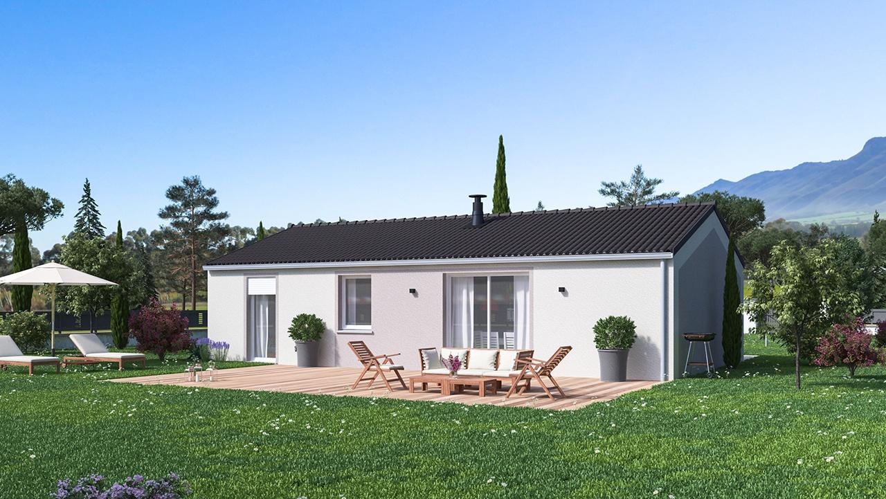 Maisons + Terrains du constructeur MAISONS PHENIX • 84 m² • CHARMES SUR L'HERBASSE