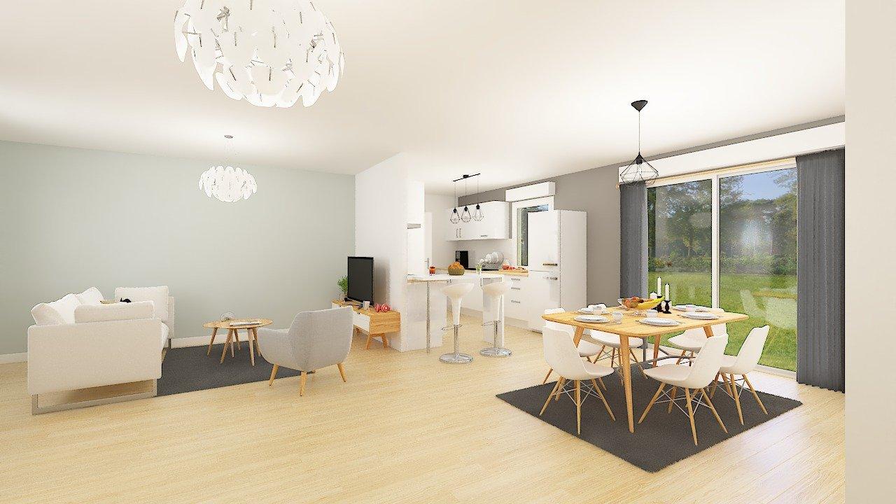 Maisons + Terrains du constructeur MAISONS PHENIX • 89 m² • CHANTEMERLE LES BLES