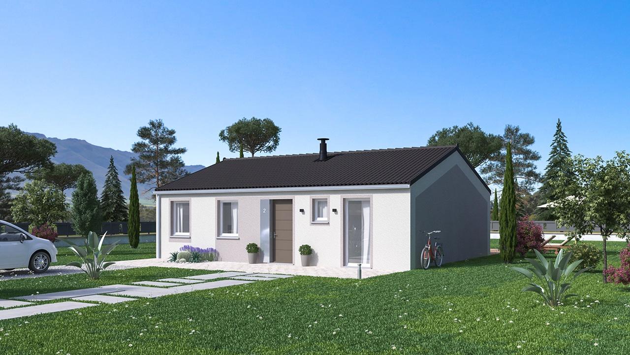 Maisons + Terrains du constructeur MAISONS PHENIX • 84 m² • SAINT RAMBERT D'ALBON