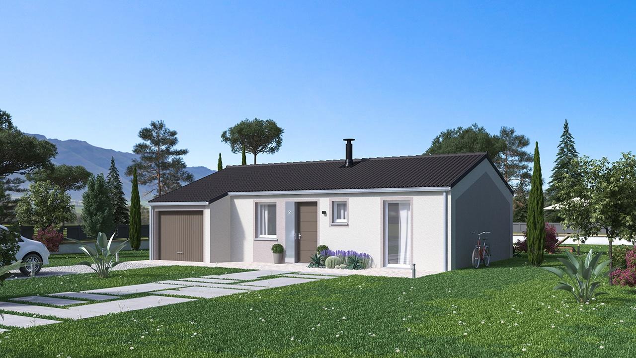 Maisons + Terrains du constructeur MAISONS PHENIX • 65 m² • SERVES SUR RHONE