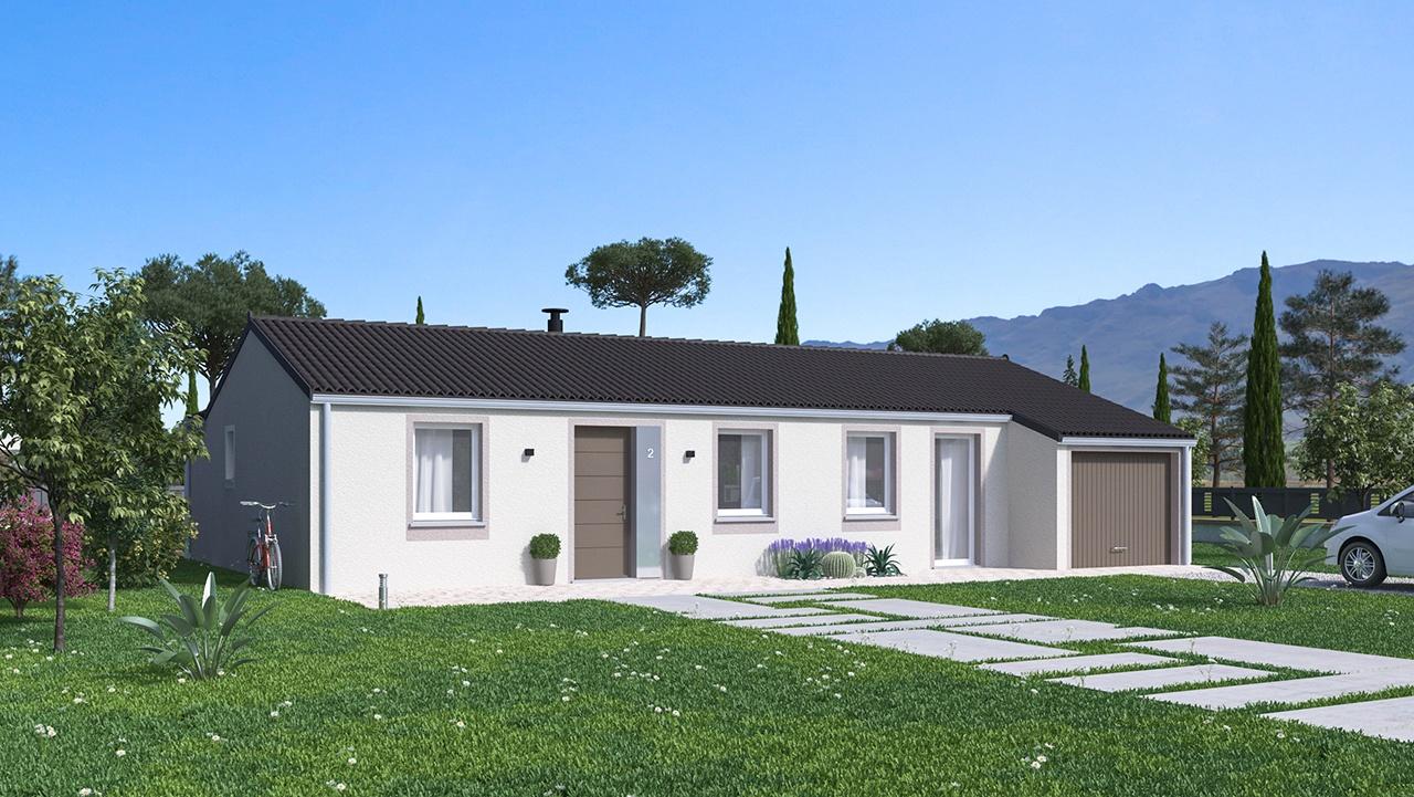 Maisons + Terrains du constructeur MAISONS PHENIX • 97 m² • SAINT VALLIER