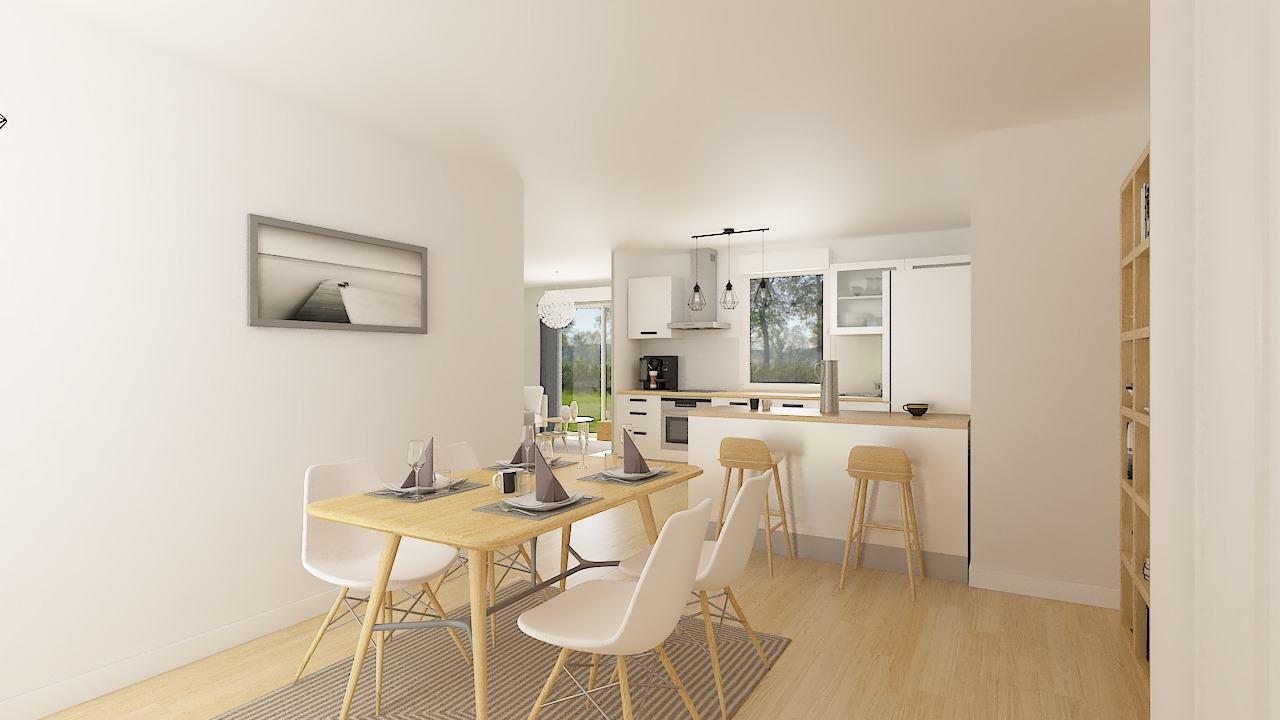 Maisons + Terrains du constructeur MAISONS PHENIX • 92 m² • SAINT JEAN EN ROYANS