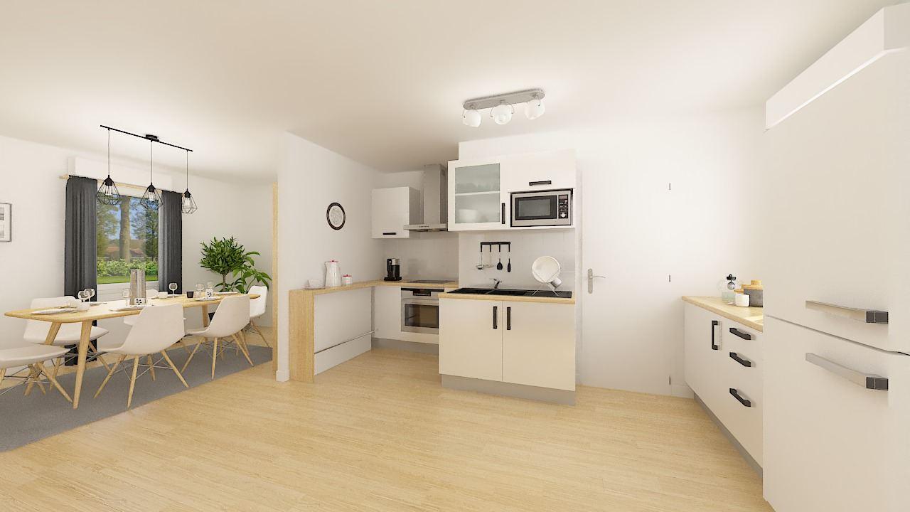 Maisons + Terrains du constructeur MAISONS PHENIX • 76 m² • SAINT JEAN EN ROYANS