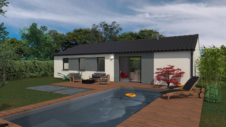 Maisons + Terrains du constructeur Maison Familiale St Marcel les Valence • 99 m² • SAINT DONAT SUR L'HERBASSE