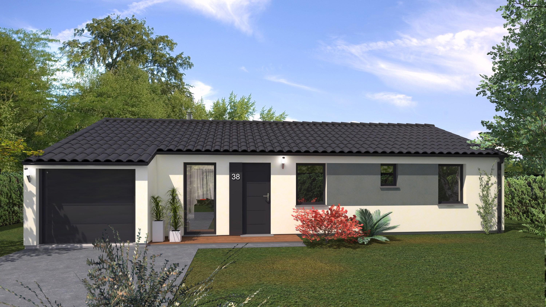 Maisons + Terrains du constructeur Maison Familiale St Marcel les Valence • 102 m² • LA BAUME D'HOSTUN
