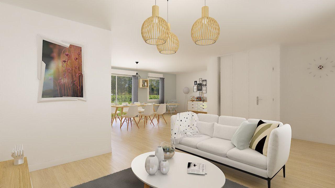 Maisons + Terrains du constructeur Maison Familiale St Marcel les Valence • 99 m² • SAINT MARCEL LES VALENCE