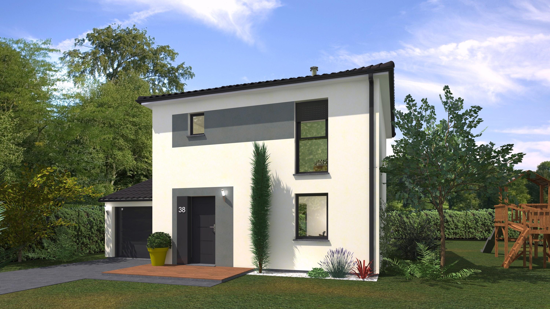 Maisons + Terrains du constructeur Maison Familiale St Marcel les Valence • 90 m² • MOURS SAINT EUSEBE