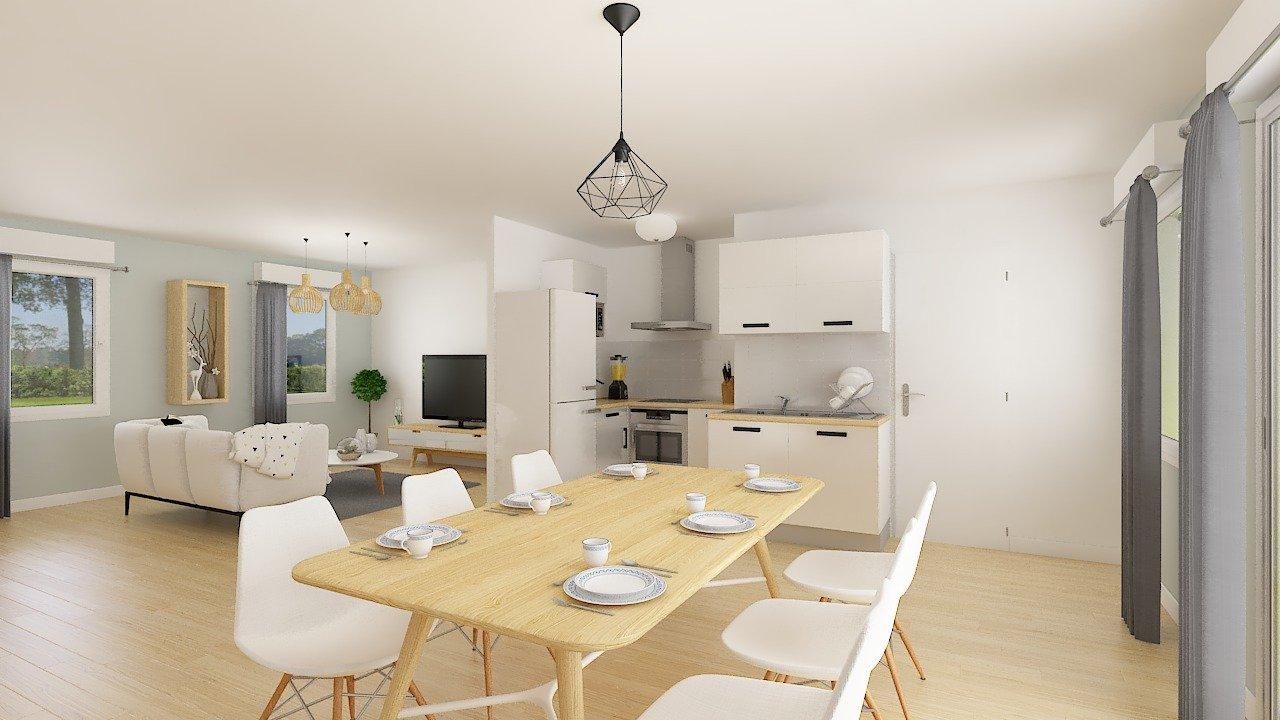 Maisons + Terrains du constructeur Maison Familiale St Marcel les Valence • 99 m² • CHATEAUNEUF DE GALAURE