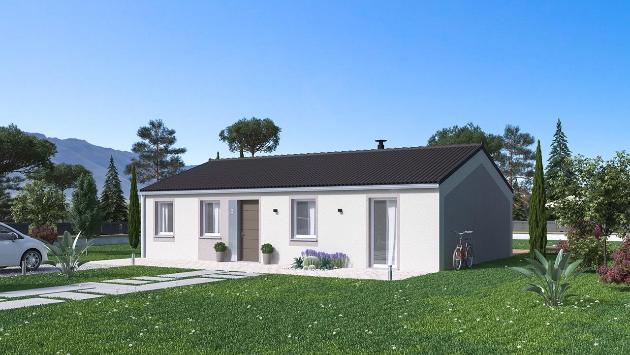 Maisons + Terrains du constructeur Maison Familiale St Marcel les Valence • 99 m² • SAINT VALLIER