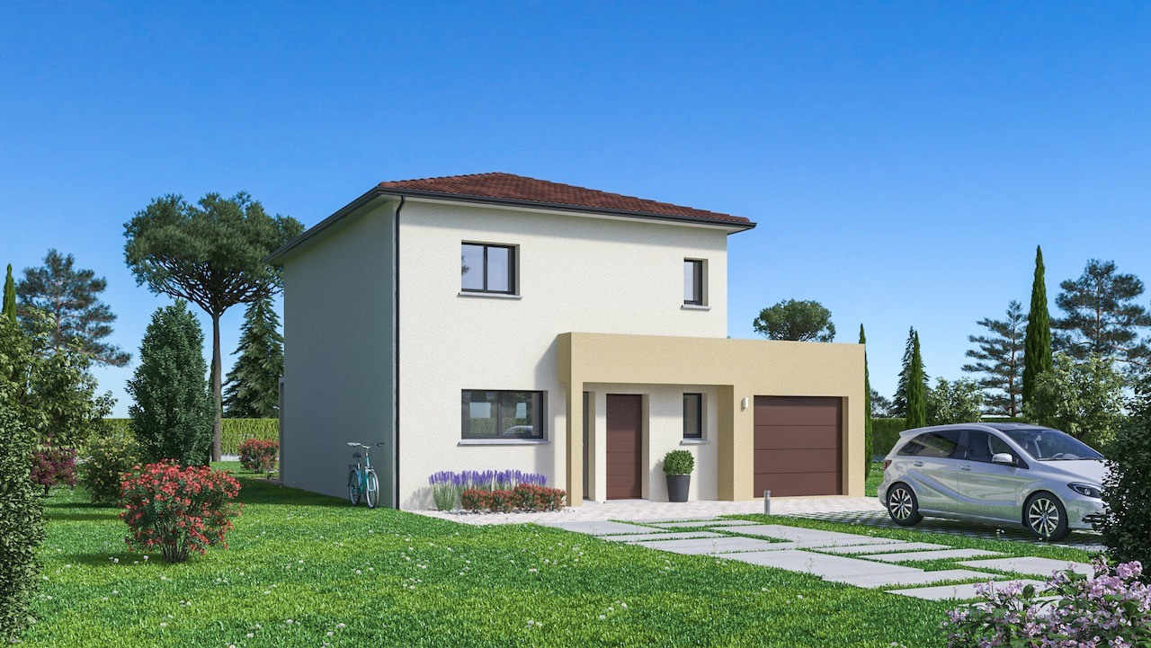 Maisons + Terrains du constructeur Maison Familiale St Marcel les Valence • 108 m² • SAINT UZE