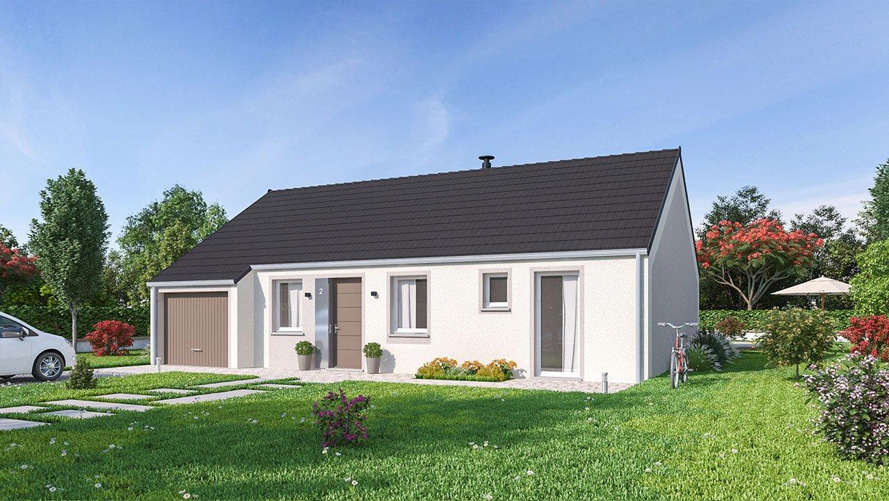 Maisons + Terrains du constructeur MAISONS PHENIX • 88 m² • AILLY SUR SOMME