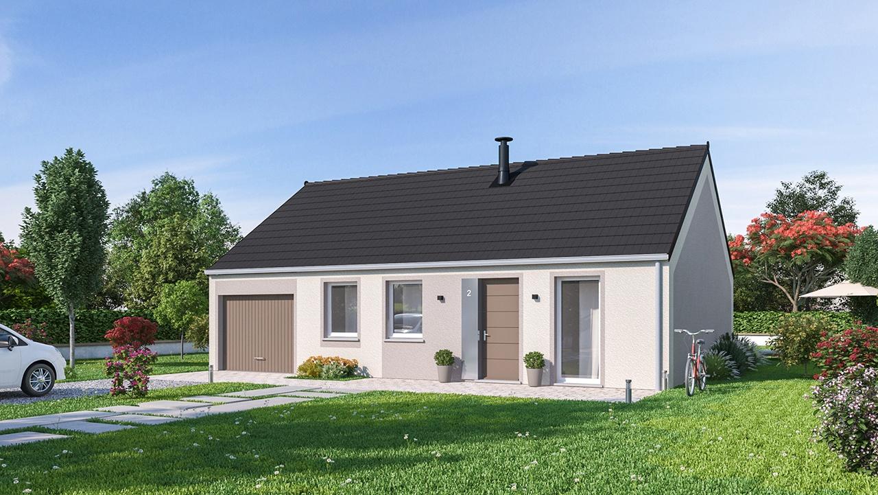 Maisons + Terrains du constructeur MAISONS PHENIX • 78 m² • CACHY