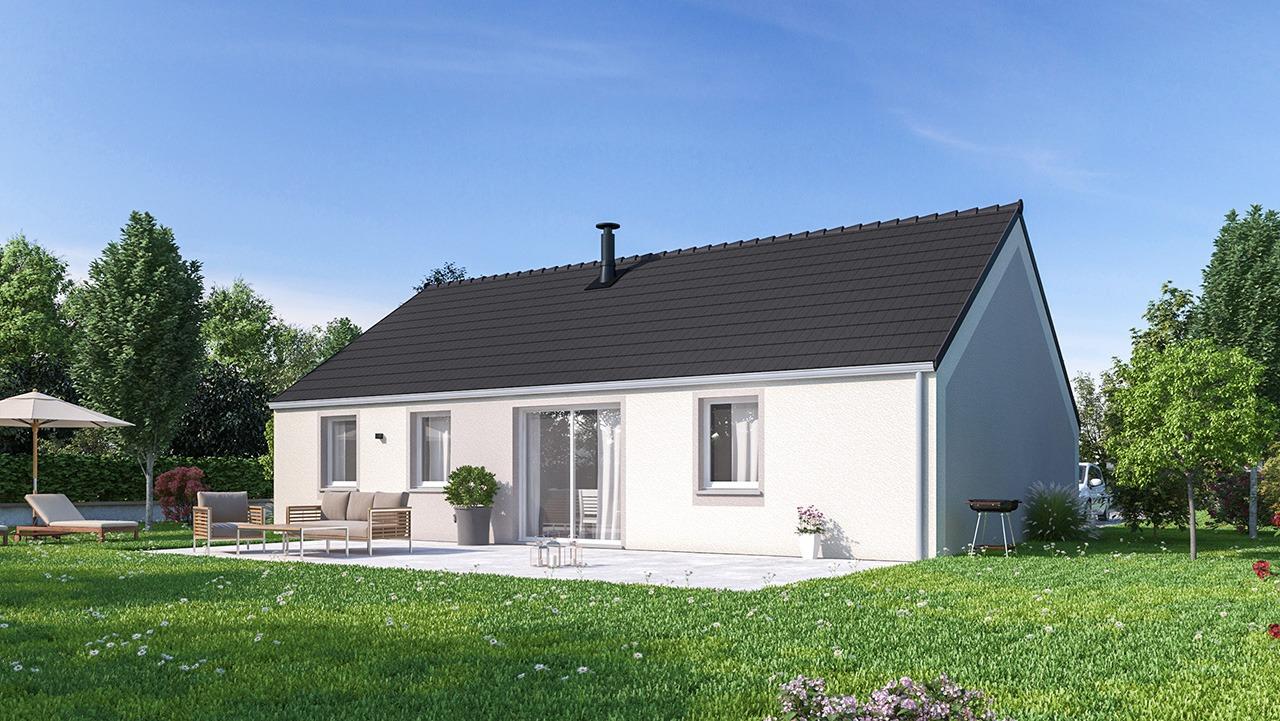 Maisons + Terrains du constructeur MAISONS PHENIX • 88 m² • BRIQUEMESNIL FLOXICOURT