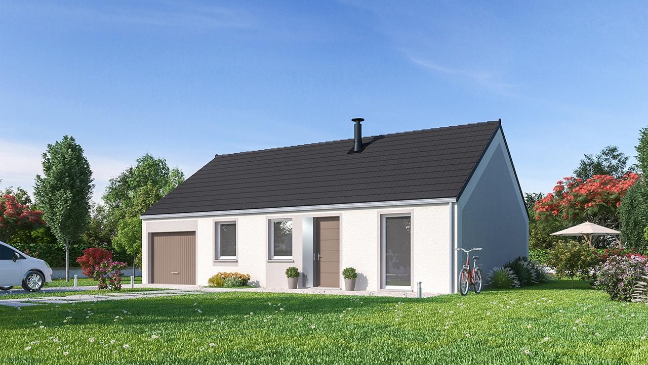Maisons + Terrains du constructeur MAISONS PHENIX • 75 m² • POIX DE PICARDIE