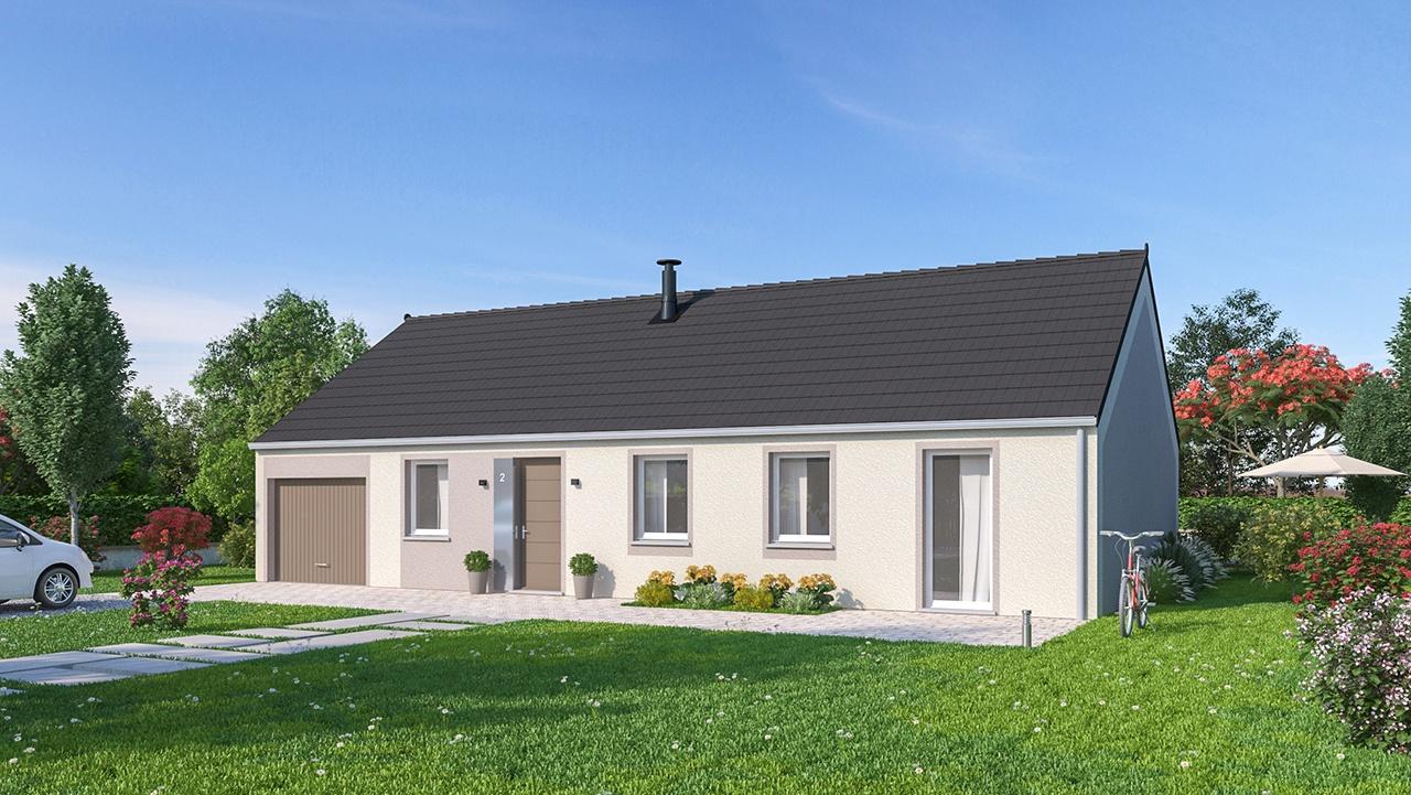 Maisons + Terrains du constructeur MAISONS PHENIX • 99 m² • ALBERT