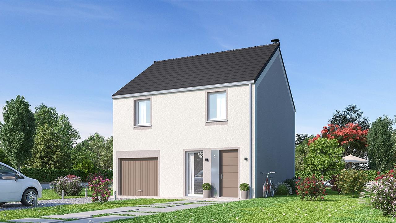 Maisons + Terrains du constructeur MAISONS PHENIX • 101 m² • BOUILLANCOURT EN SERY