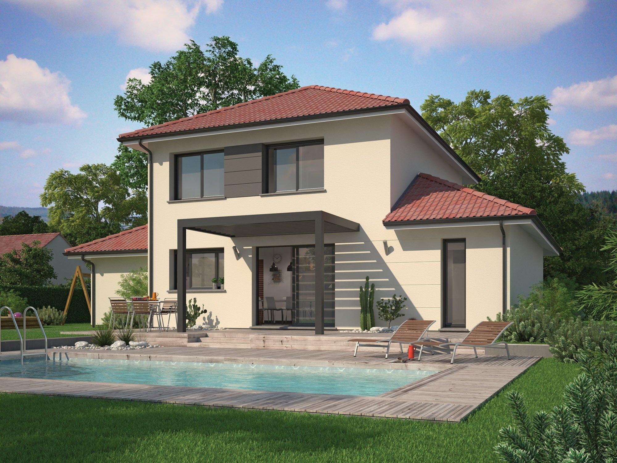 Maisons + Terrains du constructeur Maisons familiales Échirolles • 116 m² • VILLARD BONNOT