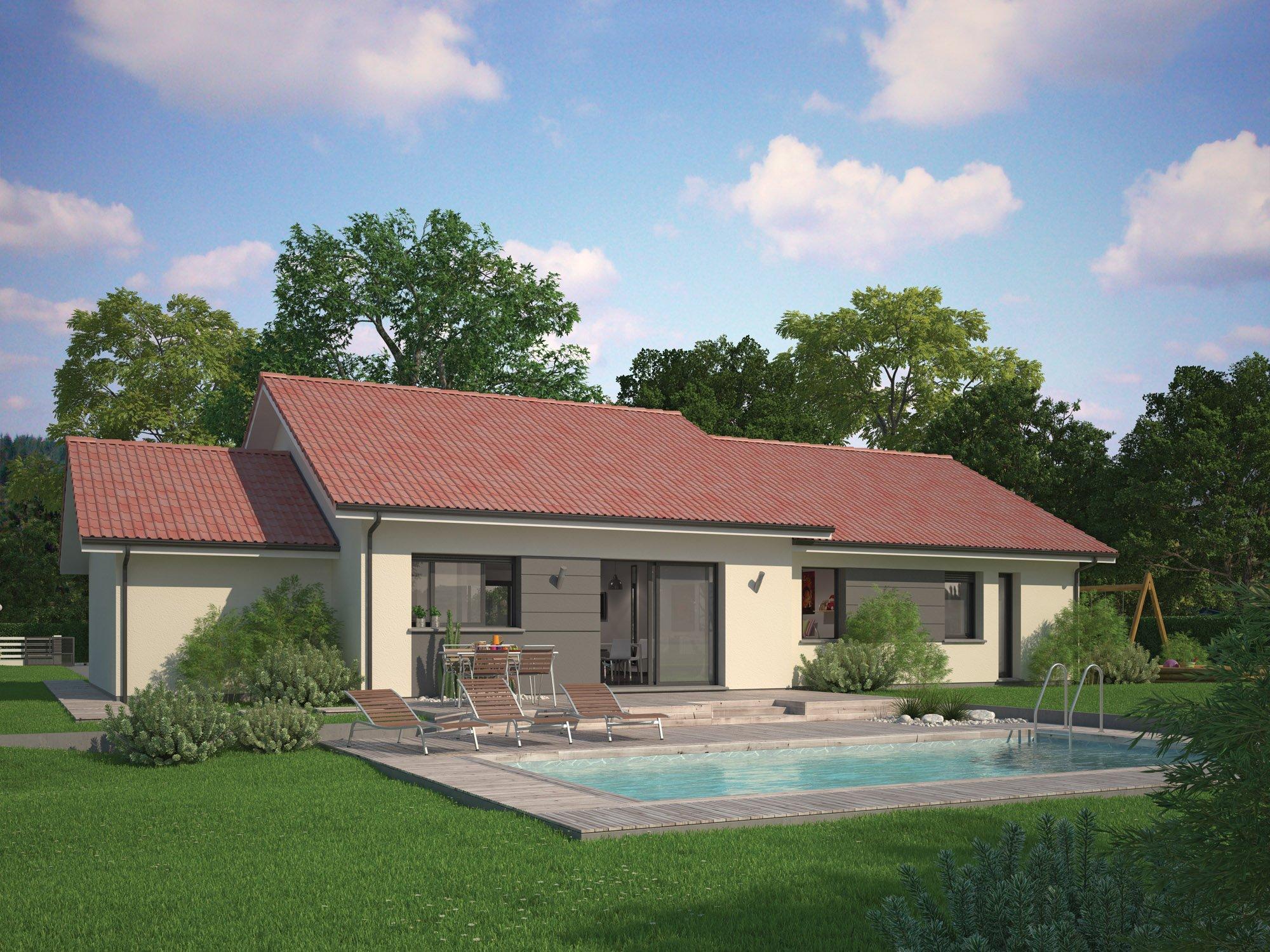 Maisons + Terrains du constructeur Maisons familiales Échirolles • 104 m² • PIERRE CHATEL