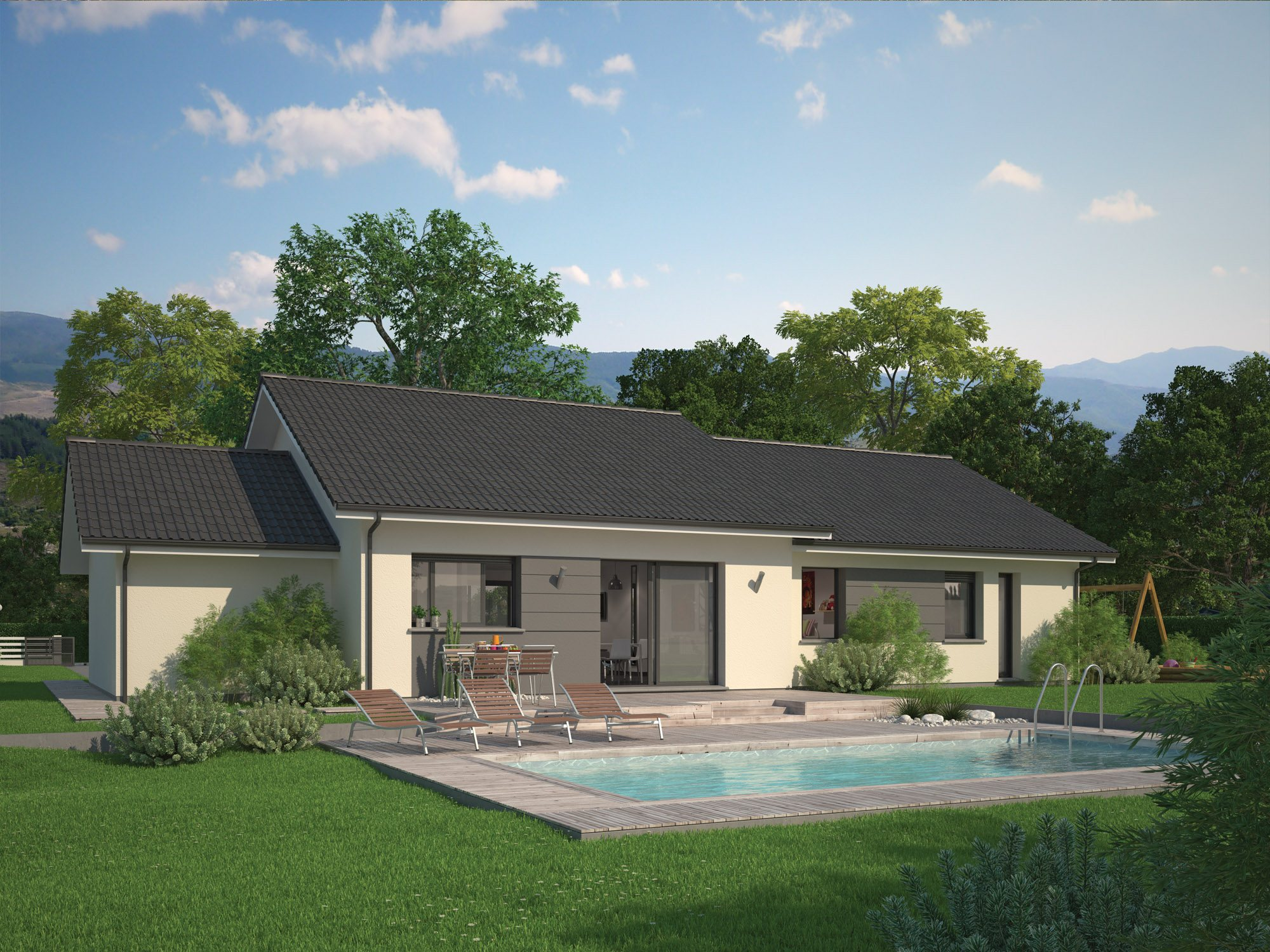 Maisons + Terrains du constructeur Maisons familiales Échirolles • 92 m² • LA MURE