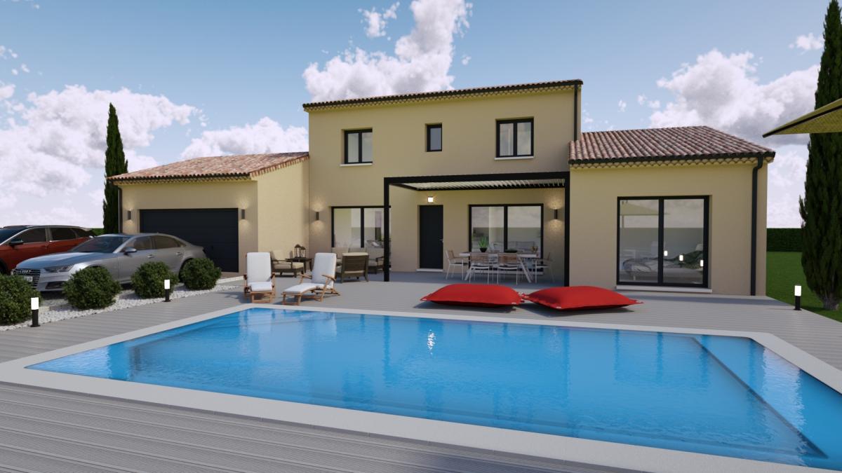 Maisons du constructeur TRADICONCEPT • 120 m² • SAINT PRIEST