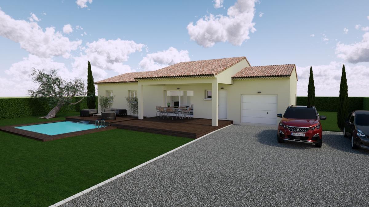 Terrains du constructeur TRADICONCEPT • 750 m² • AUBENAS