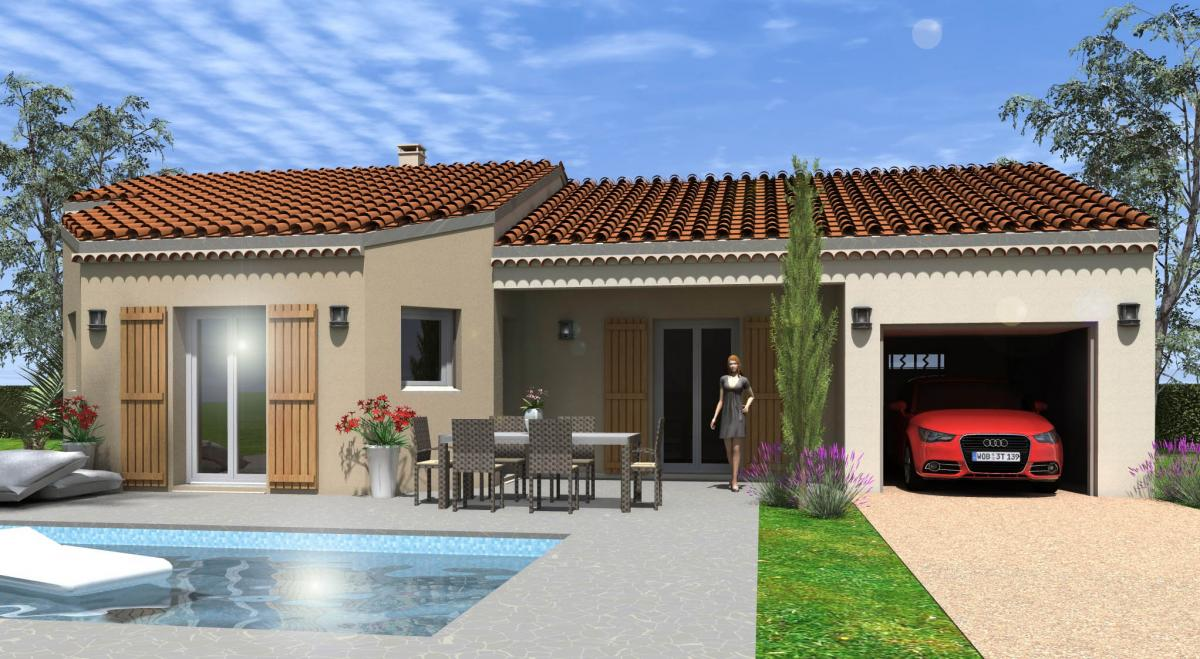 Maisons du constructeur TRADICONCEPT • 91 m² • PRIVAS