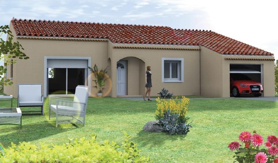 Maisons du constructeur TRADICONCEPT • 91 m² • LAVILLEDIEU