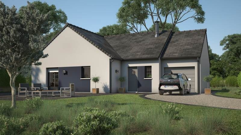 Maisons + Terrains du constructeur MAISONS FRANCE CONFORT • 90 m² • LA HAYE PESNEL