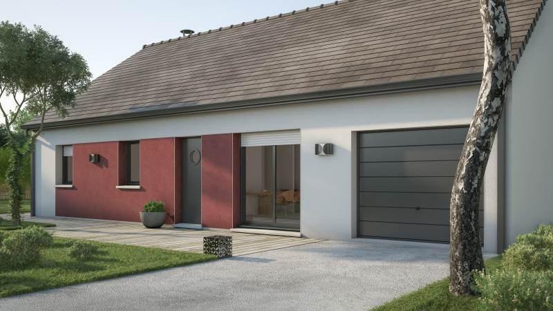 Maisons + Terrains du constructeur MAISONS FRANCE CONFORT • 76 m² • SAINT HILAIRE DU HARCOUET