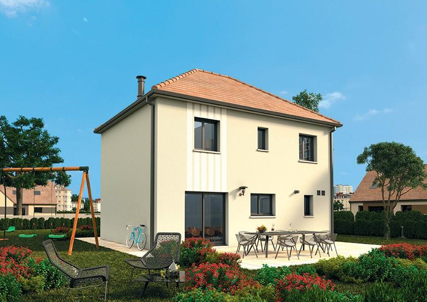 Maisons + Terrains du constructeur MAISONS FRANCE CONFORT • 95 m² • PARIGNY