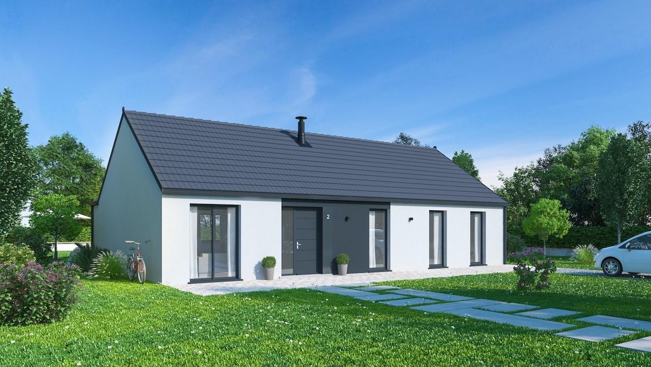 Maisons + Terrains du constructeur MAISONS PHENIX • 128 m² • BEAURAINVILLE