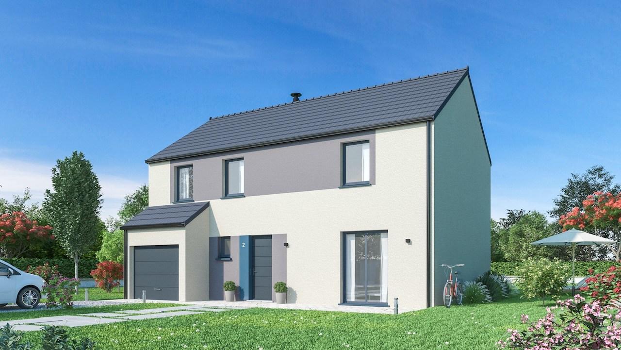 Maisons + Terrains du constructeur MAISONS PHENIX • 132 m² • CLETY