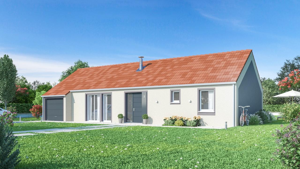 Maisons + Terrains du constructeur MAISONS PHENIX • 102 m² • MANINGHEM