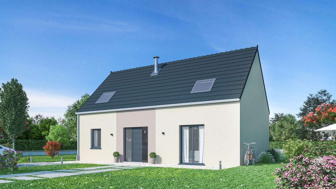 Maisons + Terrains du constructeur MAISONS PHENIX • 126 m² • VIEILLE EGLISE